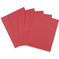 JASART COVER PAPER 125GSM A4 RED PACK 500