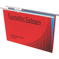 CRYSTALFILE SUSPENSION FILES RED BOX 10