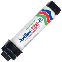 ARTLINE 120 PERMANENT MARKER 20MM CHISEL BLACK