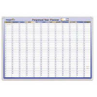 WRITERAZE PERPETUAL YEAR PLANNER QC2 500 X 700MM