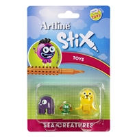 ARTLINE STIX TOYS SEA CREATURES 1 ASSORTED PACK 3