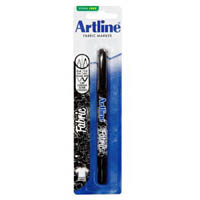 ARTLINE 7541 FABRIC MARKER BLACK HANGSELL