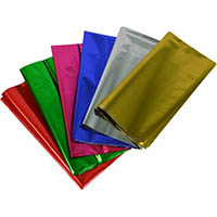 RAINBOW CELLOPHANE 750MM X 1M ASSORTED PACK 25