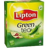 LIPTON TEA GREEN STRING AND TAG PACK 100