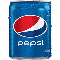 PEPSI CAN 200ML CARTON 24