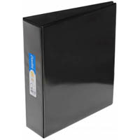 BANTEX INSERT LEVER ARCH FILE 70MM A4 BLACK