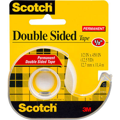 Image for SCOTCH 137 DOUBLE SIDED TAPE 12.7MM X 11.4M from Axsel Office National