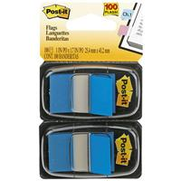 POST-IT 680-BE2 FLAGS BLUE TWIN PACK 100