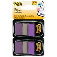 POST-IT 680-PU2 FLAGS PURPLE TWIN PACK 100