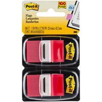 POST-IT 680-RD2 FLAGS RED TWIN PACK 100