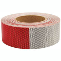 3M 7930 REFLECTIVE TAPE RED/WHITE 50MM X 3M