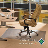 FLOORTEX ANTI-MICROBIAL CHAIRMAT 1200 X 1500MM
