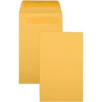 CUMBERLAND ENVELOPES P7 SEED POCKET SELF SEAL 145 X 90MM GOLD BOX 500