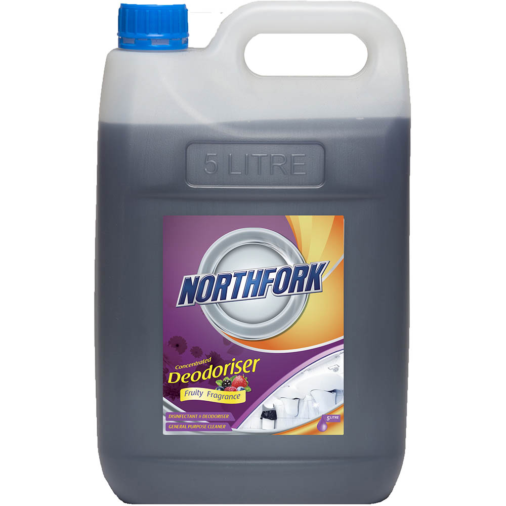 Image for NORTHFORK DEODORISER CONCENTRATED FRUITY FRAGRANCE 5 LITRE CARTON 3 from The Paper Bahn Office National