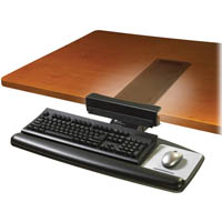 3M AKT65LE ADJUSTABLE KEYBOARD TRAY BLACK