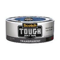 SCOTCH 2105-CD DUCT TAPE TOUGH INDIVIDUALLY WRAPPED 38.1MM X 4.5M TRANSPARENT