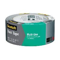 SCOTCH 1130 DUCT TAPE PREMIUM FOR HOME AND WORK 48MM X 27.4M SILVER