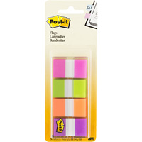 POST-IT 680-PGOP2 FLAGS 25MM ASSORTED PACK 40
