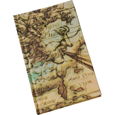 CUMBERLAND TRIP BOOK WORLD MOTIF 210 X 135MM