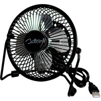 NERO USB MINI FAN 100MM BLACK