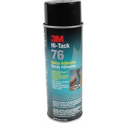 Image for 3M 76 HI-TAC ADHESIVE SPRAY 515G from Mackay Business Machines (MBM)