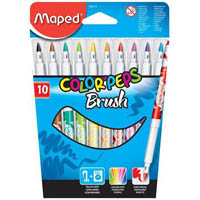 MAPED COLOR PEPS FELT MARKER ASSORTED PACK 10