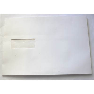 Image for CUMBERLAND C5 ENVELOPES EXPANDABLE STRIP SEAL WINDOW FACE 162 X 229MM WHITE PACK 25 from Mackay Business Machines (MBM)