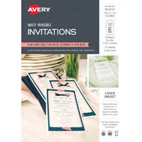 AVERY 982501 C2360 DL INVITATIONS PACK 30