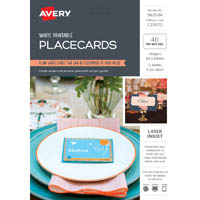 AVERY 982504 C32072 PLACECARDS PACK 40
