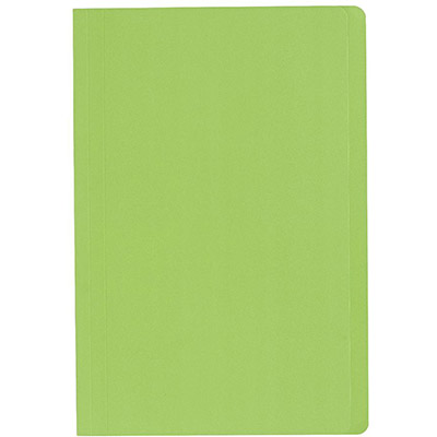 Image for MARBIG MANILLA FOLDER FOOLSCAP LIGHT GREEN BOX 100 from Mackay Business Machines (MBM)