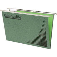 CRYSTALFILE SUSPENSION FILES ENVIRO CABINETFILE FOOLSCAP GREEN BOX 50