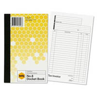 MARBIG DOCKET BOOK 50 LEAF 125 X 200MM