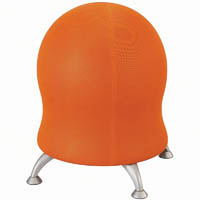 SAFCO ZENERGY BALL CHAIR ORANGE