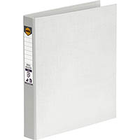 MARBIG RING BINDER PE 25MM 2D A4 WHITE