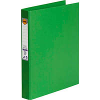 MARBIG RING BINDER PE 25MM 4D A4 GREEN