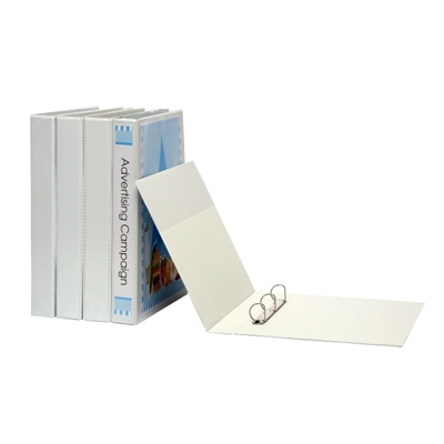 Image for MARBIG INSERT RING BINDER PVC LANDSCAPE 3D 38MM A3 WHITE from Axsel Office National