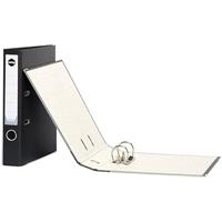 MARBIG LEVER ARCH FILES FOOLSCAP BLACK