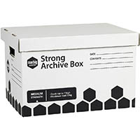 MARBIG STRONG ARCHIVE BOX 420 X 320 X 260MM