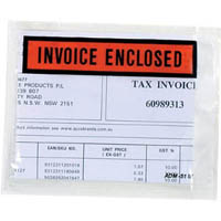 MARBIG PACKAGING ENVELOPE INVOICE ENCLOSED 115 X 150MM BOX 1000