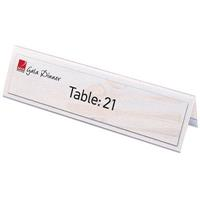 REXEL NAME PLATES LARGE 210 X 59MM PACK 25