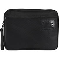 MARBIG EXPANDING CONVENTION SATCHEL 410 X 330 X 41MM BLACK