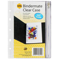 BINDERMATE PENCIL CASE A5 CLEAR