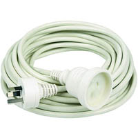 KENSINGTON EXTENSION LEAD 240V 10M WHITE