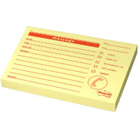 POST-IT PM03 MESSAGE NOTES 74 X 104MM WHITE