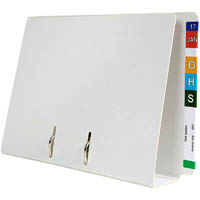AVERY 46515 LATERAL FILE D-RING LEVER ARCH FOOLSCAP WHITE BOX 5