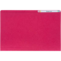 AVERY 81512 MANILLA FOLDER FOOLSCAP RED BOX 100