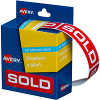 AVERY 937307 MESSAGE LABELS SOLD 19 X 64MM PACK 250