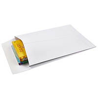 CUMBERLAND ENVELOPES POCKET EXPANDABLE PLAINFACE STRIP SEAL 150GSM 340 X 229MM WHITE PACK 100