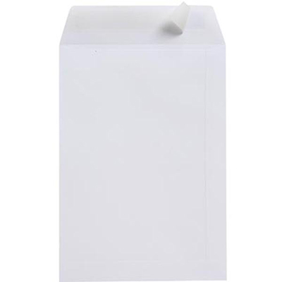 Image for CUMBERLAND B4 ENVELOPES POCKET STRIP SEAL 100GSM 353 X 250MM WHITE BOX 250 from Mackay Business Machines (MBM)