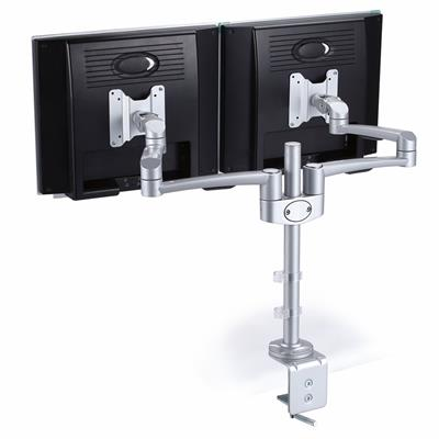 Image for SYLEX MONITOR ARM DOUBLE CLAMP BASE from Mackay Business Machines (MBM)